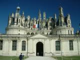 Château de Chambord dont la construction débuta à la demande et sous le règne de François 1er