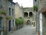 Porte du Jerzual qui donne accès à la Rance