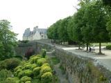Madeleine fait une pause sur la promenade de la duchesse Anne de Bretagne