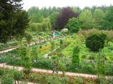 Jardins vue à partir du 2ième étage de la maison
