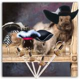 Chowder, BoyToy, Jasmine & Norman - The 4 Muskateers