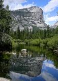 el capitan from mirror lake