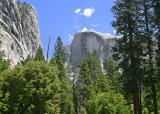 half dome from ahwanee 2