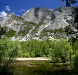 half dome from mirror lake 4