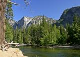 yosemite fall by the river 3