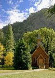 the church in fall