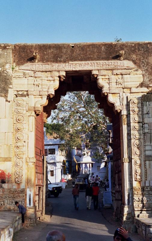 Gateway en route to Chittaurgarh fort