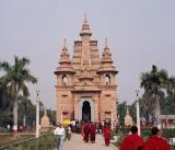 Buddhist temple, Sarnath
