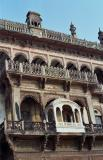 Ornate balconies, Ram Nagar