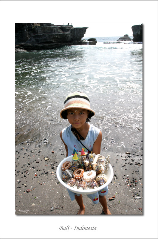 she sell sea shore at the sea side