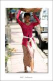 Smile of Balinese girl