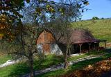 Early Autumn Barn  10/19/05