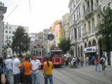 Taksim shopping street