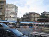 the new trams in istanbul