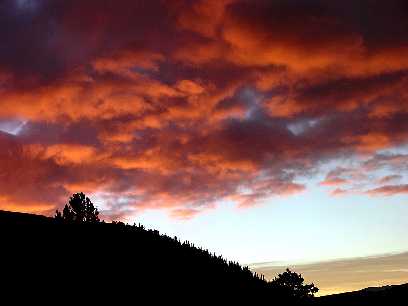 Sunrise over Berthoud Pass