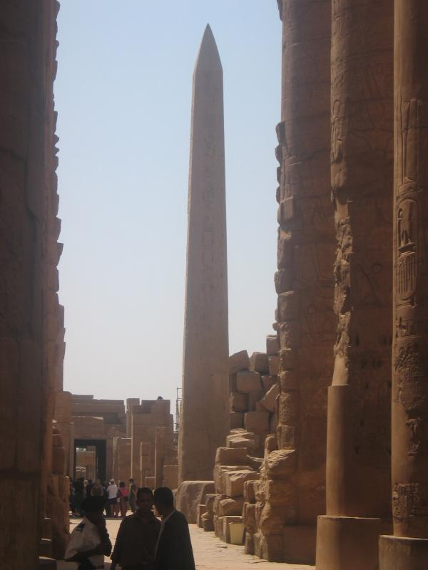 Hatshepsuts Obelisk @ Karnak
