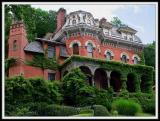The Packer Mansion Dominates the Hill