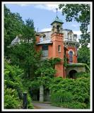 Packer Mansion Side View.
