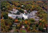 Pocono Manor Resort from an Aerial View