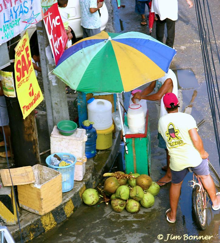 Butong  Vendor(Young Coconut)