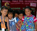 Children Waiting For President Arroyo's Visit