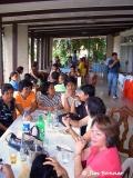 Some of the Guests at Mommy Pat's House in Camague
