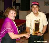 Josefina Congradulates Mayor Kiko