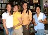 With Marites G., Jang-Jang & Sirikit