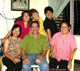 With Sammy & Maribel Echavez, Lolit Penola & the background models