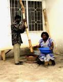 Ghana 2001 - Pounding FuFu