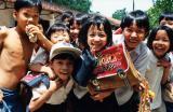 school kids @ Phy My Vietnam