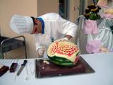 Watermellon carving