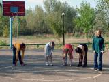 Next morning - exercises