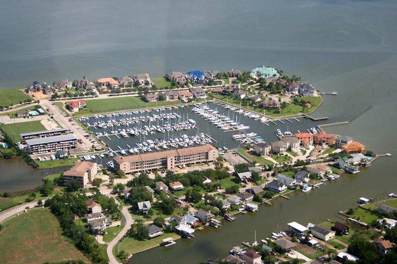 Marina on Clear Lake near Houston
