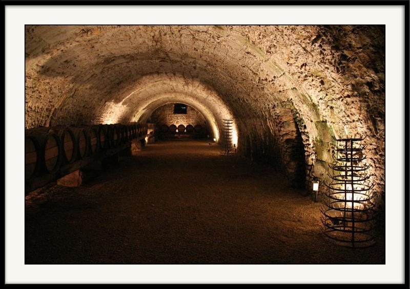 Vaux le vicomte</br>La cave