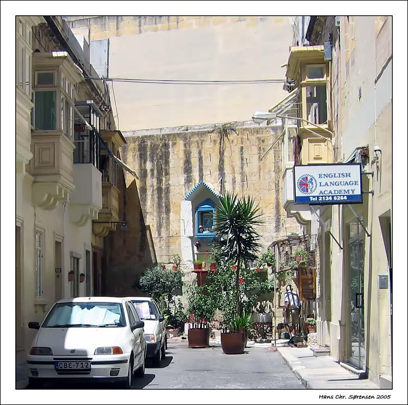 Side street in Sliema