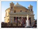 The Church in Mosta