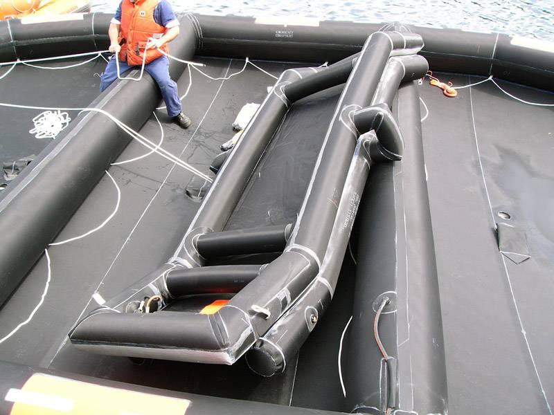 Underneath slide