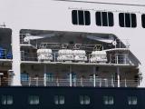 MS Statendam davit launched life rafts