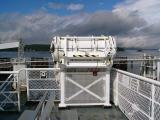Life Raft Deployment Rack