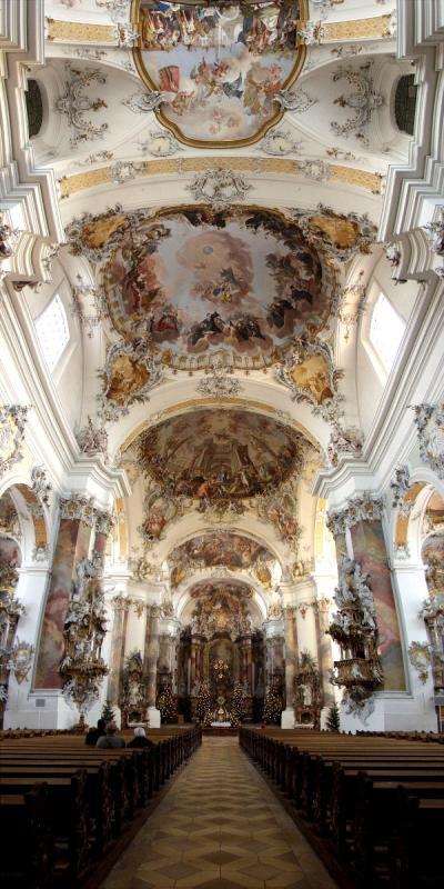 Basilika Abtei Ottobeuren (D)