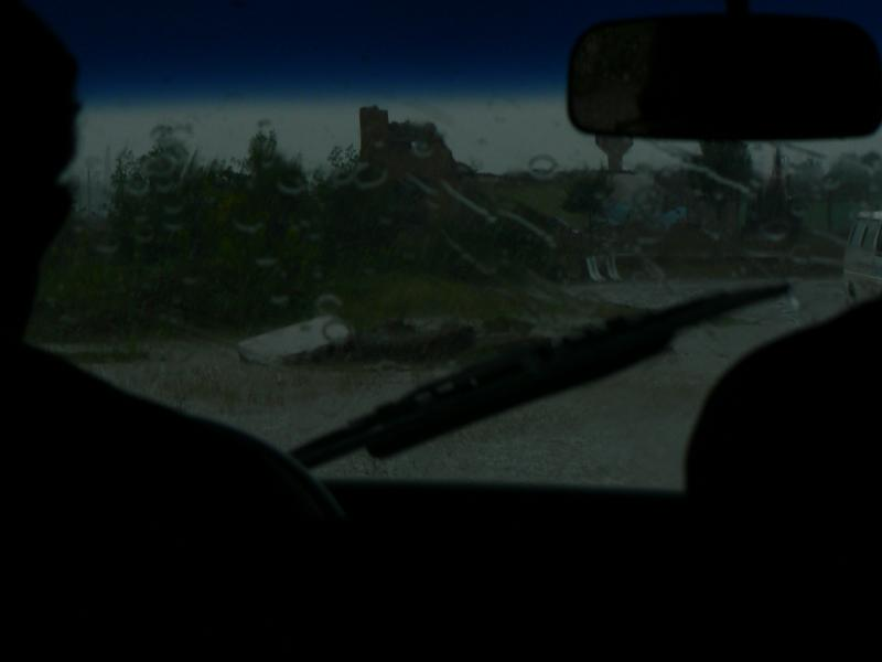 Driving back from Kutaisi