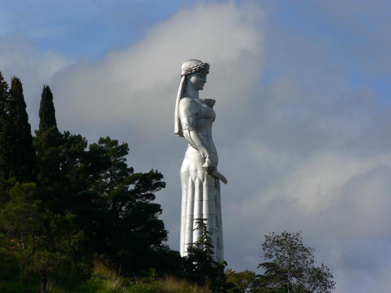 Mother of Georgia Statue