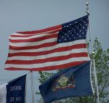 us and pa flags