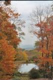view from overlook at stan hywet