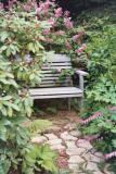 almost hidden bench