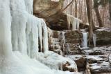 frozen dundee falls