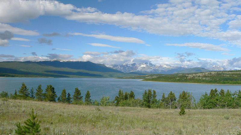 Choelquoit Lake panorama