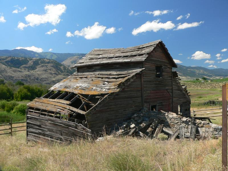 Old house, Osoyoos, B.C.