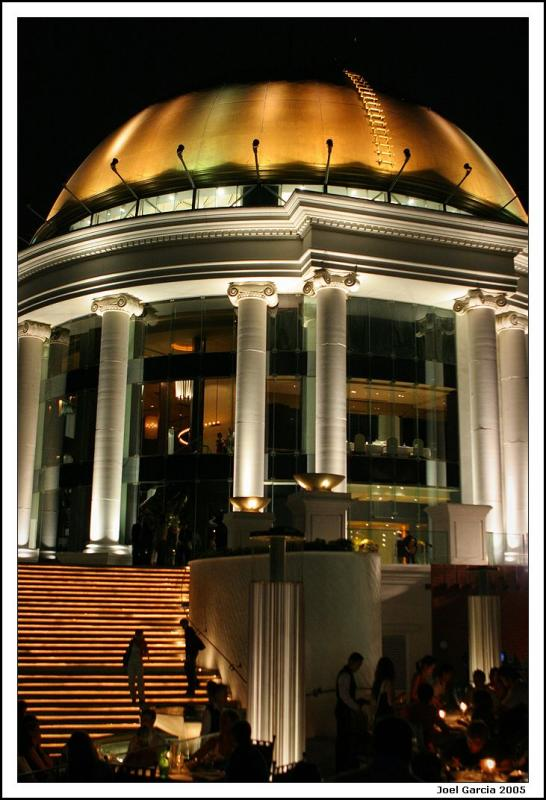 Dome at the Sirocco bar